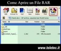 7-Zip per aprire un file RAR su pc