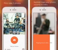 Iphone Nutshell Camera per videomessaggi foto