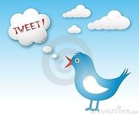 Scrivere su immagini da condividere su Twitter app