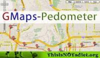 Gmaps Pedometer