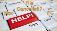 file cancellati