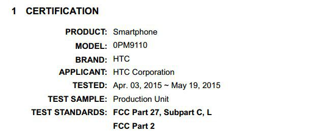 HTC 0PM9110