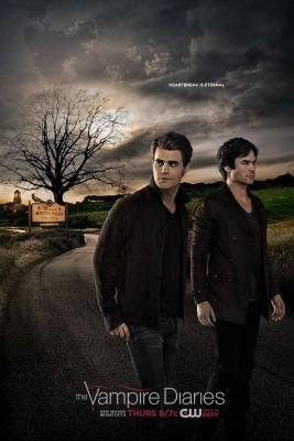 anticipazioni the vampire diaries 7_poster promozionale_damon e stefan